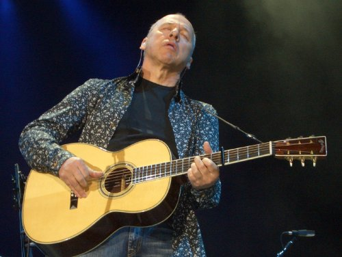 Mark Knopfler en Atarfe en 2008 (foto Spanish City)